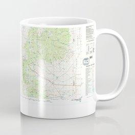 NV Ely 321502 1987 topographic map Coffee Mug