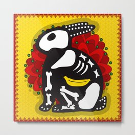 NOT SO DAY OF THE DEAD Metal Print
