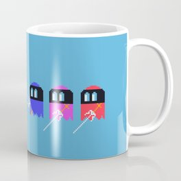 Pac Ninja, Pixelated Terror of the Night | videogame #tribute | #pixelart Coffee Mug