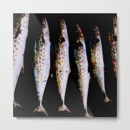 holy mackerel Metal Print