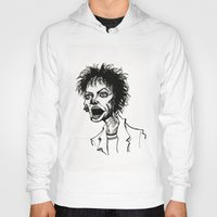 wes anderson Hoodies featuring Laurie Anderson by Simone Bellenoit : Art & Illustration