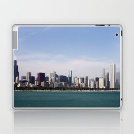 Chicago Skyline Day Photography Laptop & iPad Skin
