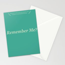 Remember Me? Stationery Cards
