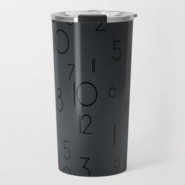 Random clock Travel Mug