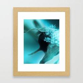 Turquoise Solitude (1/3) Framed Art Print