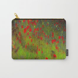 SPACE POPPIES Carry-All Pouch