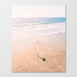 Surf Stroll Canvas Print