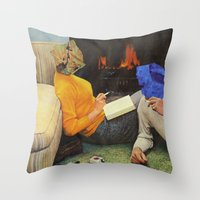 mineral Throw Pillows featuring Mineral Love by Blaz Rojs