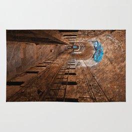 Prison Corridor - Sepia Blues Rug
