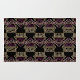 Seamless antique art deco pattern ornament. Geometric stylish background repeating texture Rug