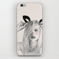 catwoman iPhone & iPod Skins featuring Catwoman  by Aeriz85