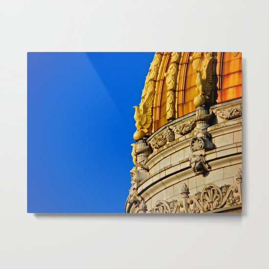 Westmoreland County Courthouse Dome Metal Print