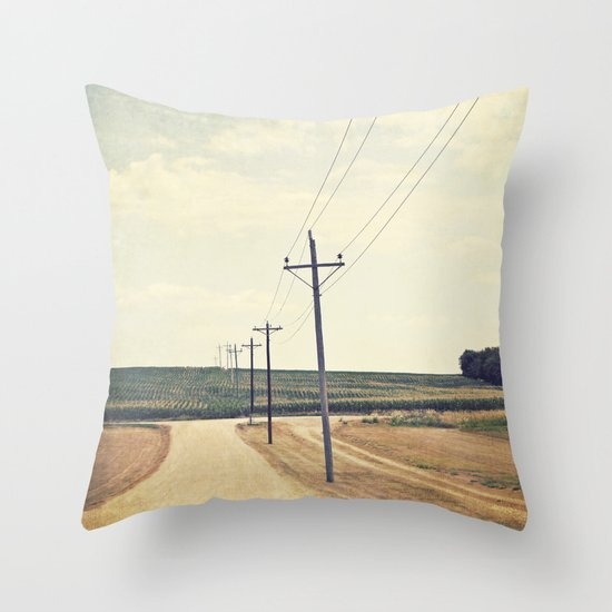 The Road to Dreams Throw Pillow