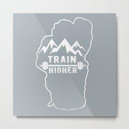 Train Higher Tahoe Metal Print