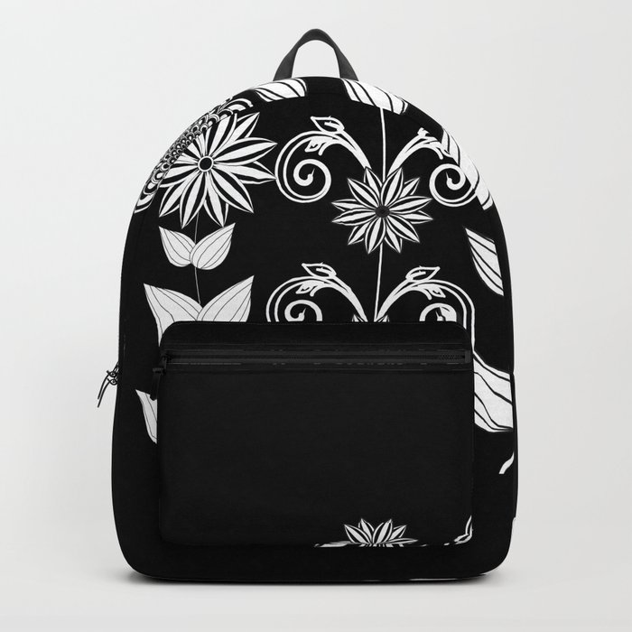 Flower garden 1 Backpack