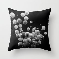 Orbs Throw Pillow