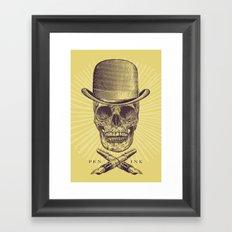 Dead Artist Framed Art Print