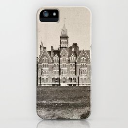 Danvers State Hospital (Danvers Lunatic Hospital), Kirkbride iPhone Case