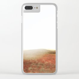 Abstract Desert  Landscape Photography Clear iPhone Case