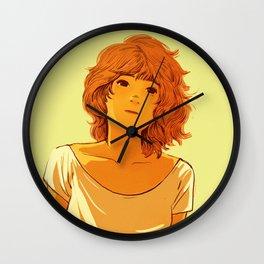 Summer Girl Wall Clock
