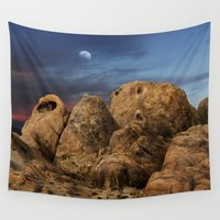 alabama Wall Tapestries featuring Alabama Hills. by alex preiss