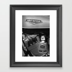 Harley Davidson Framed Art Print