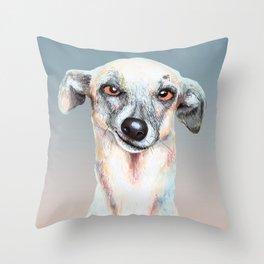 Just Dog Throw Pillow