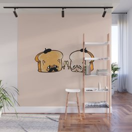 Frenchie Toast Wall Mural