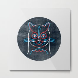 The Pussycat and The Owl Metal Print