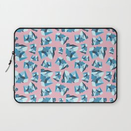 Blue Gemstone Laptop Sleeve