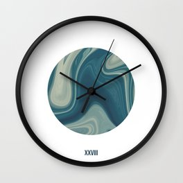 ABSTRACT LIQUIDS XXVIII - 28 Wall Clock