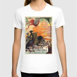 Rome 1911 world exposition T-shirt