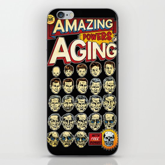 The Amazing Powers of Aging! iPhone & iPod Skin