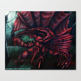 Whisperer in the Darkness Canvas Print