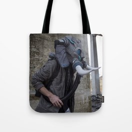 Sneakerhead Elephant Gas Mask by Freehand Profit Tote Bag