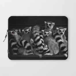 Gang Of Ring-Tailed Lemurs Laptop Sleeve