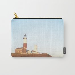 Sunset at Lighthouse in East Hampton Carry-All Pouch
