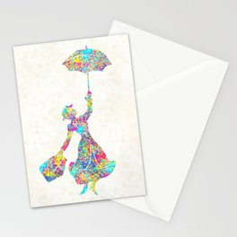 Mary Poppins - The Magical Nanny Stationery Cards