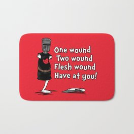 One Wound, Two Wound..... Bath Mat