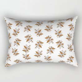 Cute draw Floral | flowers art | Autumn Flower | Rectangular Pillow