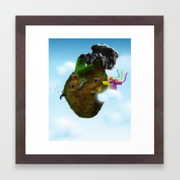 CARDIACO Framed Art Print