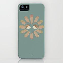 Hedge Hog Flower Power iPhone Case