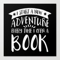 I Start a New Adventure Every Time I Open a Book! - Inverted by bookwormboutique