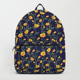 California Gold Rush (Poppies) Backpack