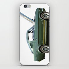 Side on Mustang iPhone & iPod Skin