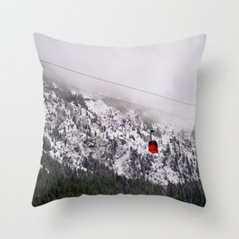 Up to the mountains Throw Pillow