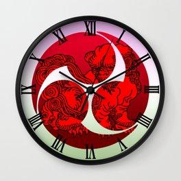 tomoe Wall Clock