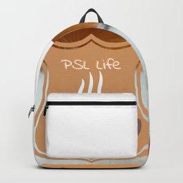 PSL Life Cat Basic Pumpkin Spice Latte Kitty Backpack