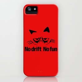 No drift No fun v5 HQvector iPhone Case