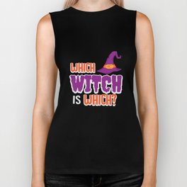 Which Witch Is Which Biker Tank